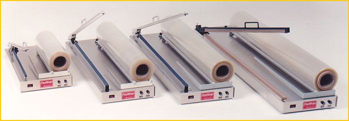 Pacwrap I Bar Sealers For Shrink Wring Complete Systems With Film And Heat Gun